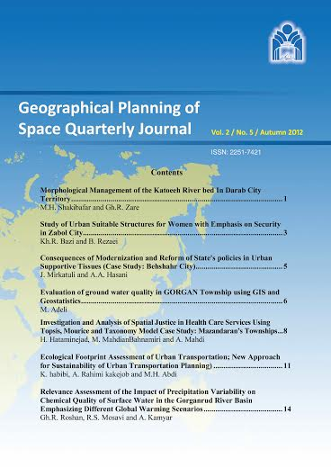 Geographical Planning of Space